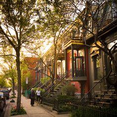 Rue de Bullion, Plateau Mont-Royal, #Montreal by François Hogue