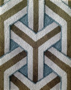 Geometric Rug Pattern Wall To Commercial Hotel