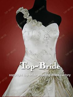Wedding Dress imported Satin H786   www.top-bride.cn  www.top-bride.com  MSN:top-bride@hotmail.com   Skype: topbride707