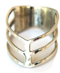 #wingshawaii.com          #ring                     #Double #Chevron #Ring #wings #hawaii #Jewelry #Samantha #Howard #Wings #Hawai'i #Handmade #with #Aloha                           Double Chevron Ring - wings hawaii - Jewelry by Samantha Howard for Wings Hawai'i Handmade with Aloha                             http://www.seapai.com/product.aspx?PID=1163105