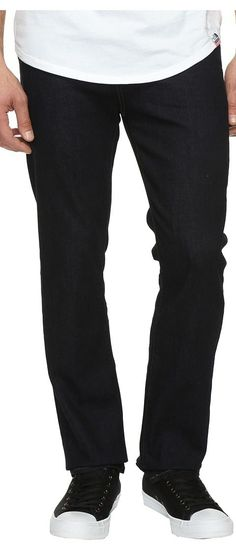 7 For All Mankind Fool Proof Slimmy in Classic Indigo (Classic Indigo) Men's Jeans - 7 For All Mankind, Fool Proof Slimmy in Classic Indigo, ATA511836A-CLSC, Apparel Bottom Jeans, Jeans, Bottom, Apparel, Clothes Clothing, Gift, - Street Fashion And Style Ideas
