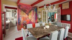 Александр Шепель Яркий и уютный семейный коттедж в Украине   Изначально в оформлении пространства доминировал стиль...  #interior #interiordesign #homedecor #homedesign #homestyle #decoration #decor #interio4all  #design #modern  #luxuryhouse #homes #home