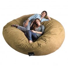 Extra Large Bean Bag Chairs - http://www.mybarnacles.com/extra-large-bean-bag-chairs/ : #BeanBags Extra Large Bean Bag Chairs- bean bag chairs are decorative type seats that are filled with PVC pellets, dried beans or expanded polystyrene. Became popular during the 1960s and 1970s are simple in design and easy to make. You can make your own version with a colorful and durable fabric. This...