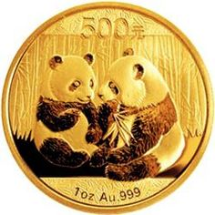 2009 Chinese Gold Panda Bullion Coin - Reverse Side