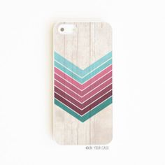 iPhone 5 5S Case iPhone 4 4S Samsung Galaxy Wood Geometric Ombre Teal Amethyst | eBay