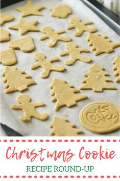 I've been scouring Pinterest for the easiest and yummiest looking Christmas cookies to make on our Christmas cookie baking day… cookies that we can enjoy at home and share with others this holiday season!