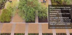 Annenberg Centro constrói uma paisagem para corresponder LEED Arquitetura