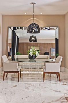 espelho na sala