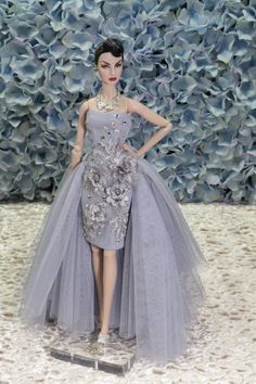 Outfit Dress Fashion Royalty Silk stone Barbie Model Doll by t.d.fashion ooak #FashionRoyaltySilkstoneBarbie