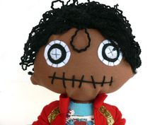 Michael jackson doll Hey, I found this really awesome Etsy listing at https://www.etsy.com/listing/386214820/michael-jackson-fabien-handmade-doll-of