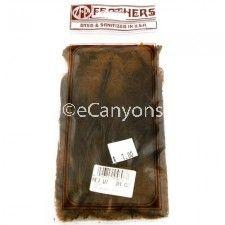 Zucker Feathers Neck Hackle Brown .04oz   Price : $0.79