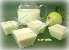 Gazpacho de pepino y manzana