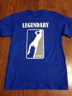 Hey, I found this really awesome Etsy listing at https://www.etsy.com/listing/187631501/dirk-nowitzki-legendary-shirt