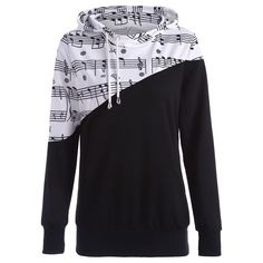 Material: Polyester,Spandex Shirt Length: Regular Sleeve Length: Full Style: Fashion Pattern Style: Print Season: Fall,Spring Weight: 0.361 kg Package Contents: 1 x Hoodie