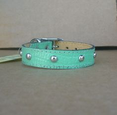 Quality Leather Dog Collars - Handmade Puppy Collars - Cute Cat Leather Collars | eBay