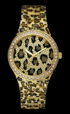 Guess horloge panter print W0015L2 €179.95