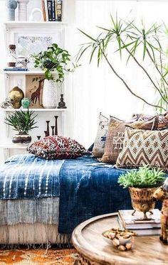 Modern bohemian bedroom decor ideas (31)