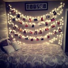 Decorative String Lights For Bedroom Led Photo Clip Battery Operated String Lights  Lights Room And