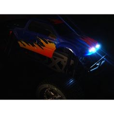 Двойные передние фары и электронные тормозные LED огни, 5 мм, 350 мм, RCL5006 -    Хотите сделать свою модель максимально реалистичной? Используйте профессиональные системы освещения премиум класса -   RC LIGHTS  !        Используйте для установки 4 бел