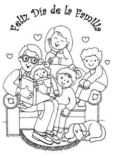 Maestra Erika Valecillo Día De La Familia Hojas De Trabajo