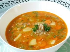 Řapíkatá polévka s pohankou – U Miládky v kuchyni Menu, Thai Red Curry, Ethnic Recipes, Food, Menu Board Design, Essen, Meals, Yemek, Eten