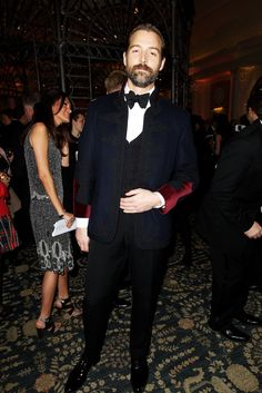 Patrick Grant at the British Fashion Awards 2012 #ManAboutTown