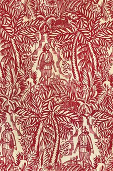 'LA CHASSE', DESIGNED BY RAOUL DUFY, 1928 for Bianchini Ferrier