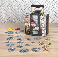 Fingerhut - Performance Tool 1000-pc. Hardware Caddy