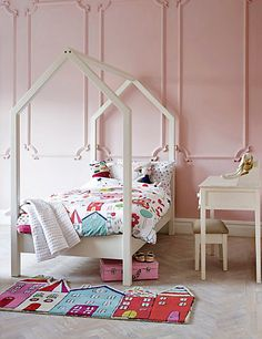 Kids get all the cool beds... make your little one has one too with this Millie House Bed!