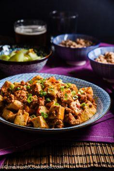Authentic Mapo Tofu (麻婆豆腐) - An easy mapo tofu recipe that creates the authentic taste of China | omnivorescookbook.com