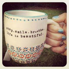 This is the mug linz uses for her #tea. Image via http://itzlinz.com. #coffeecups