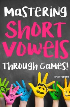 Mastering Short Vowels Through Games! Learning tricky Short Vowels doesn't have to be hard! Check out how I use games to reinforce the short vowel sounds in many different ways! via @mbuckets