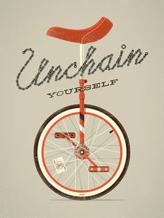 Unchain yourself #poster