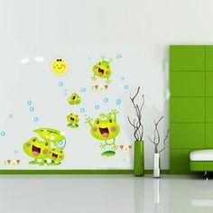 Gyerekszoba falmatricák fiúknak : Vidám békacsalád falmatrica.  #béka #vidám #család #gyerekszobafalmatrica #falmatrica #gyerekszobadekoráció #gyerekszoba #matrica #faldekoráció #dekoráció Pixel 4, Cute Frogs, Diy Stickers, House Rooms, Art Decor, Home Decor, Wall Sticker, Iphone Wallpaper, Creative