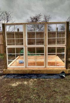 my big fat greenhouse project, architecture, diy, gardening, windows