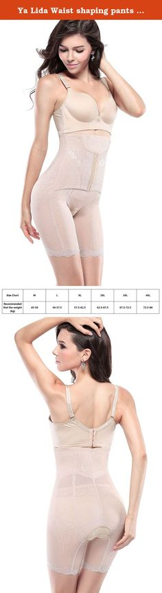 Ya Lida Waist shaping pants postpartum abdomen fat burning body sculpting pants khaki 4XL. Size Chart:(62 inches in height as a reference) Tag Szie M:for weight 45kg-50kg Tag Szie L:for weight 50kg-57.5kg Tag Szie XL:for weight 57.5kg-62.5kg Tag Szie 2XL:for weight 62.5kg-67.5kg Tag Szie 3XL:for weight 67.5kg-72.5kg Tag Szie 4XL:for weight 72.5kg-80kg .