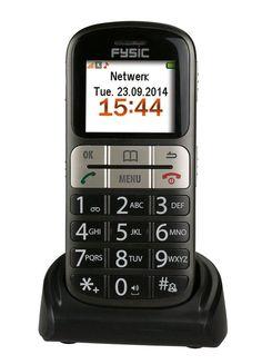 Fysic FM-7800 - Senioren mobiele telefoon - Zwart