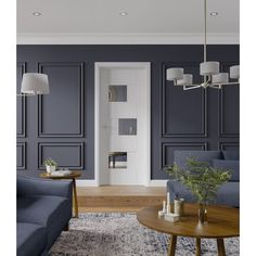 Internal White Fully Finished Perugia Door Designed to stand out the Perugia interior white fully finished door will make a stunning addition to any modern contemporary room setting Living Room With Fireplace, Living Room Decor, Alcove Ideas Living Room, Front Room Decor, Living Room Panelling, Wall Panelling, Interior Wood Paneling, Modern Wall Paneling, White Wall Paneling