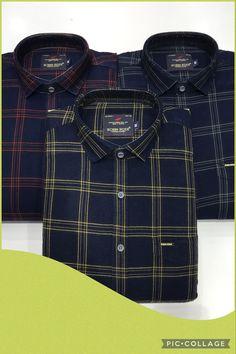 Casual Wear, Casual Shirts, Flannel, Indigo, How To Wear, Casual Outfits, Casual Clothes, Flannels, Indigo Dye