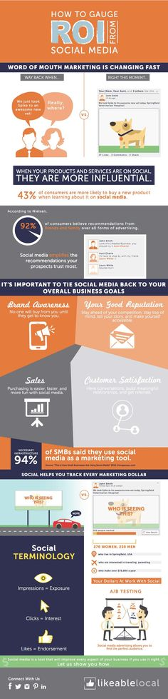ROI Graphic — Likeable Local