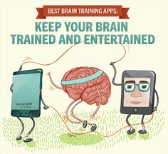 Do you find it difficult to retain the information listed in your history book? Or maybe those printed study guides your teacher handed out just aren't cutting it.We compiled a list of the best brain-training apps to help you excel in the classroom and have fun while doing it. #apps #brain #studytips