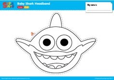 pinkfong and baby shark coloring sheet printable Theme
