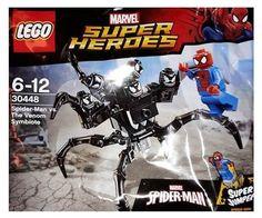 Lego 30448 Marvel Spiderman Vs. The Venom Symbiote Set New/Sealed!! 49pc HTF Toy #LEGO