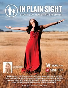 Checkout the movie 'In Plain Sight: Stories of Hope and Freedom' on Christian Film Database: http://www.christianfilmdatabase.com/review/in-plain-sight-stories-of-hope-and-freedom/