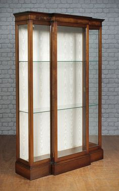 Antiques Atlas Mahogany Display Cabinet By Archer Smith Fly Rod