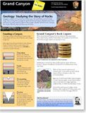 Geology of the Grand Canyon for kids The Story of Rocks How is Grand Canyon like pancakes? Study its rocks to find out!