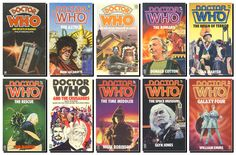 Fabulous Doctor Who book covers from the 1970s and 1980s | Target Books' Novelisations