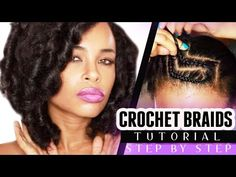 I love the way she explains how to CROCHET BRAIDS w/ MARLEY HAIR. If you need a tutorial on how to do crochet braids regardless of the hair check this out!