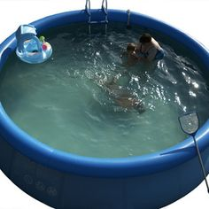 Intex pools are easy to set-up, but require serious attention.