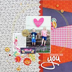 #papercraft #scrapbook #layout. That's So You by audreykit at @studio_calico